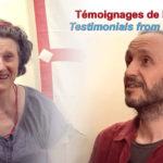 Interview de drouplas à la sortie de la retraite de 3 ans : Agnès et Sigvald